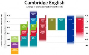 Cambridge exam levels